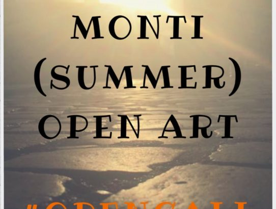 #OPENCALL: MONTI (summer) OPEN ART