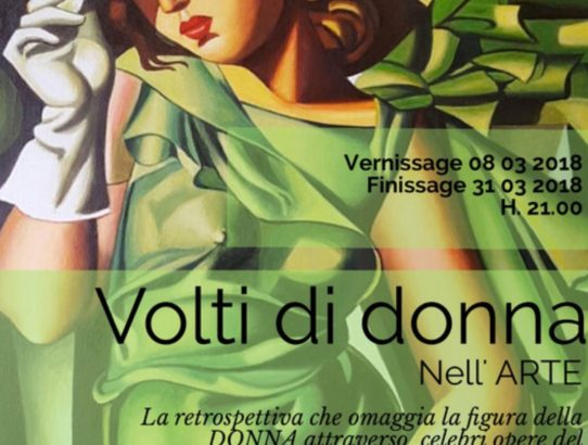 Volti di Donna. Nell' ARTE Collettiva in divenie di 2(be)ART