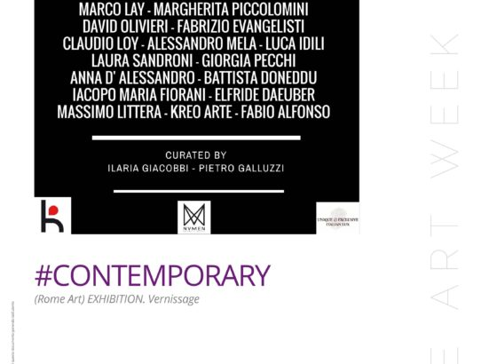 #CONTEMPORARY (Rome Art) Exhibition al Rome Art Week 2018