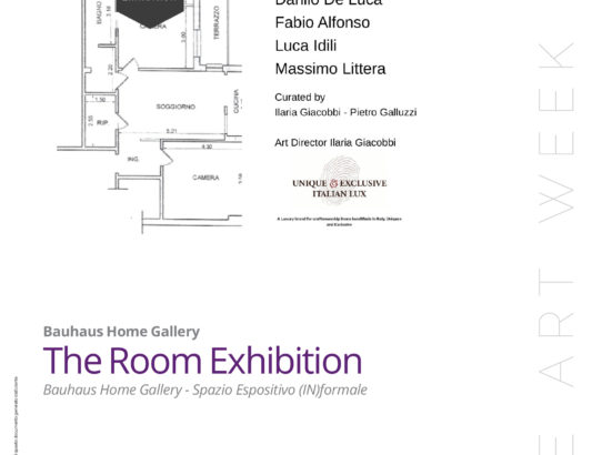 THE ROOM EXHIBITION: BAUHAUS HOME GALLERY AL ROME ART WEEK