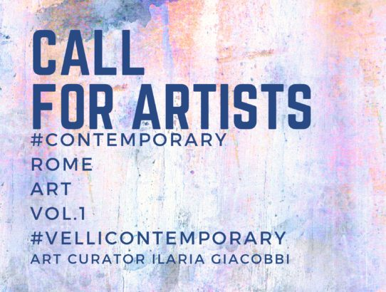 #Contemporary Rome Art VOL.1 Mostra Internazionale Arte Contemporanea II Edizione 2019/2020. Call for Artists