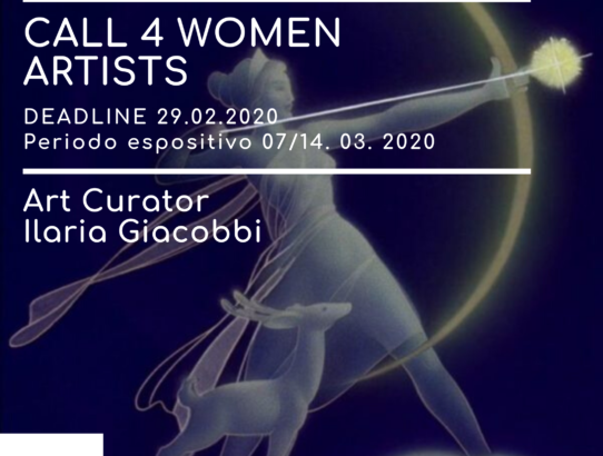 I EDIZIONE PREMIO ARTEMIDE -WOMEN IN ART CALL FOR WOMEN ARTISTS